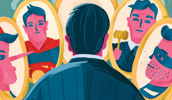 vesa-matti-juutilainen-editorial-illustration-mirrors-self-image-and-how-others-see-you-Advokaatti-magazine-featured